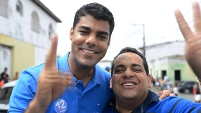 Campanha 2016, candidatura prefeito Tiquinho Nogueira e vice Léo Matos.