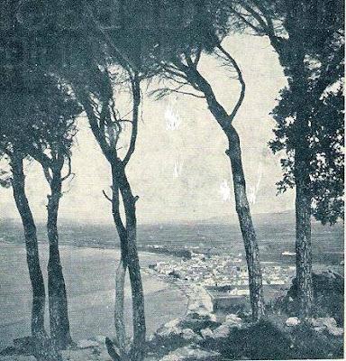 La bahía de Roses en 1935