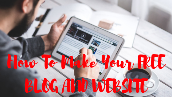 How To Make Your FREE BLOG AND WEBSITE Look Amazing