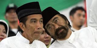 Foto Surya Paloh dan Jokowi
