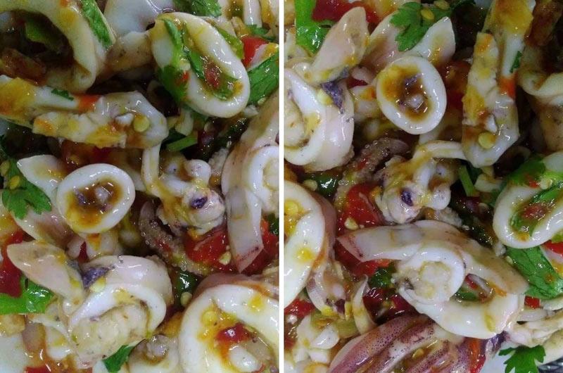 resepi sotong ala thai
