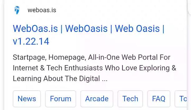 web oasis