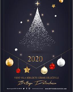 Bottega Delicatezza İstanbul Yılbaşı Programı 2020 Menüsü