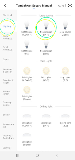 Smart lights bardi 9W