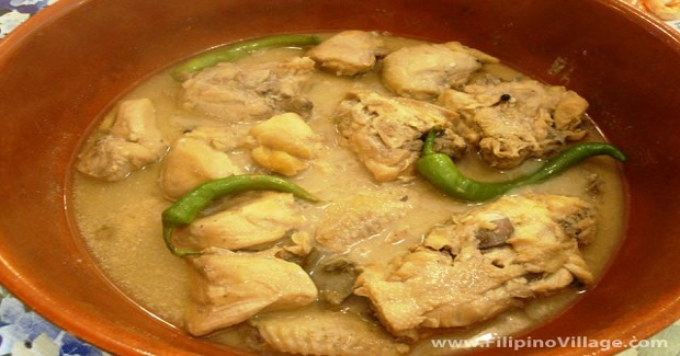 Guinataang Manok (Chicken In Coconut Milk) Recipe