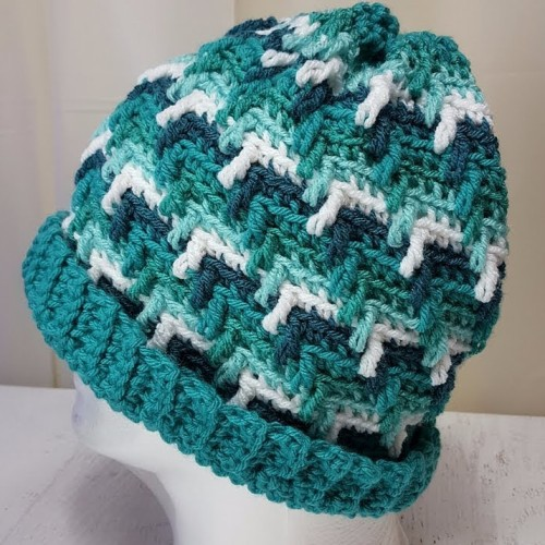 Crochet Apache Tears Hat - The Easy Way