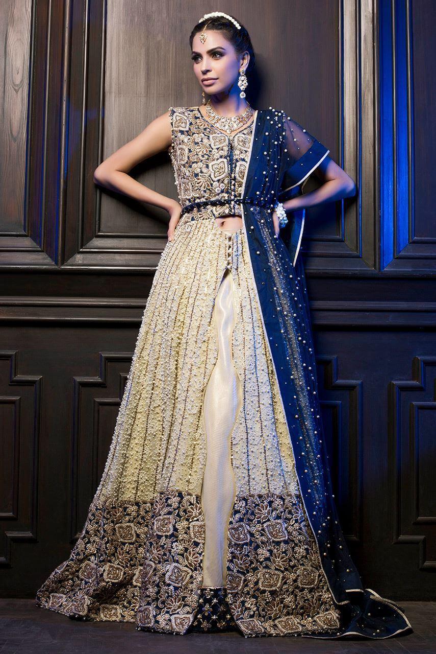 Ayesha Ibrahim Walima Bridal Dress
