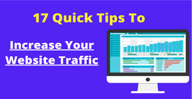 17 Proven Tips To Increase Website Traffic(Free)
