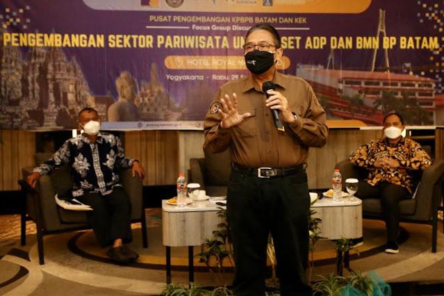 Gelar FGD,  BP Batam Perkuat Pengembangan Aset Untuk Meningkatkan Pendapatan