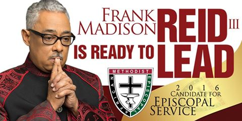 Announcement rev frank m reid iii the next ame church bishop