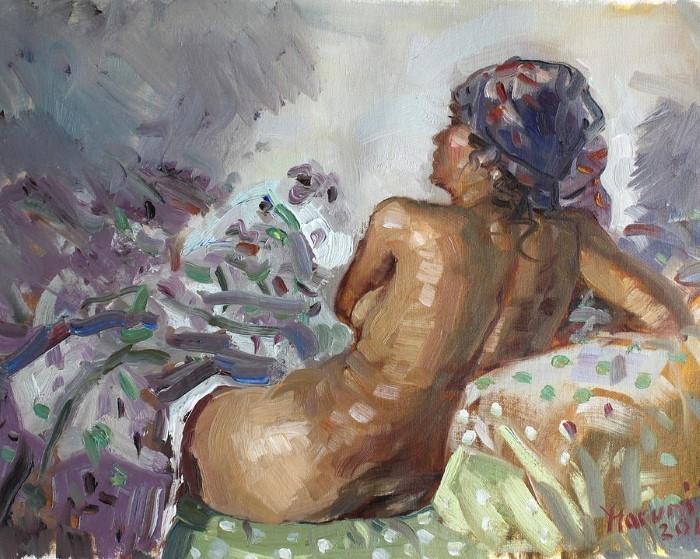 Албанский художник-импрессионист. Ylli Haruni