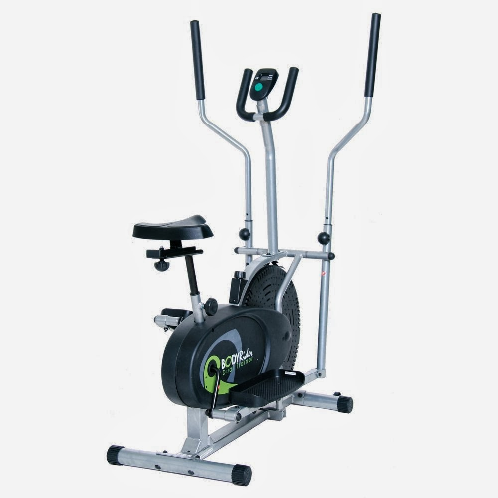 Body Rider BRD2080 2-in-2 Elliptical Trainer & Exercise Bike, picture, review features & specifications