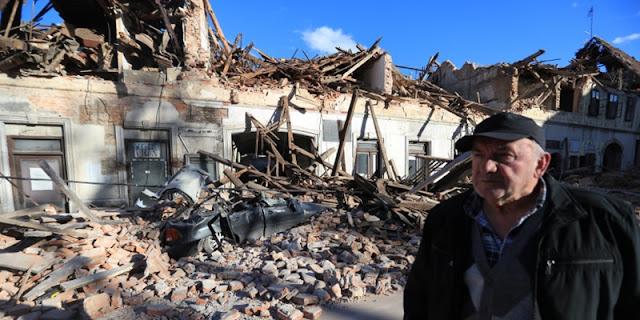 Puluhan Bangunan Hancur Dan Seorang Anak Tewas Saat Kroasia Diguncang Gempa M 6,3