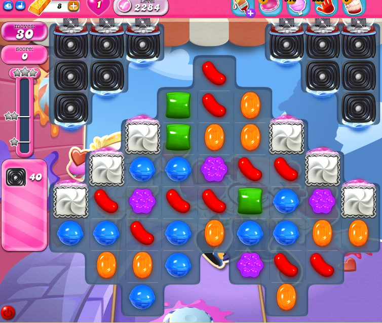Candy Crush Saga level 2284