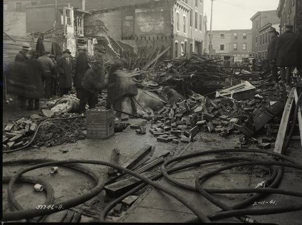 11 February 1941 worldwartwo.filminspector.com Philadelphia gas explosion