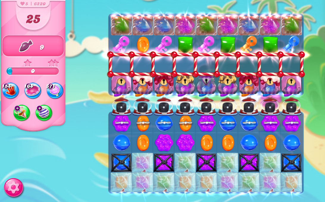 Candy Crush Saga level 6220
