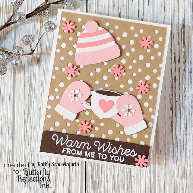 Sunny Studio Stamps: Warm & Cozy Dies Customer Card by Kathy Schweinfurth