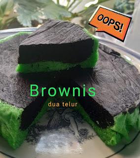 Resep Masakan Sederhana Membuat Kue Brownis Lapis, Lembut dan Istimewa