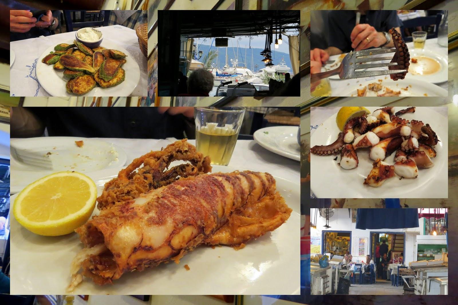 Seafood in Aegina