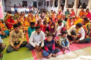 ग्राम मकरदर्रा में डॉ नारायण पुरी जी महाराज ने 7 दिवशी श्रीमद् भागवत कथा का भव्य आयोजन
