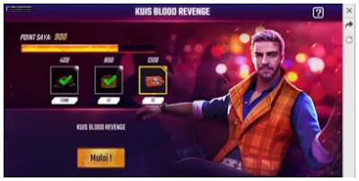 Skill apa yang dimiliki joseph dan apa pekerjaan kla di ff ? ini jawabannya di Event Kuis Blood Revenge FF