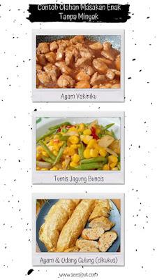 Masakan Tanpa Minyak Part 1