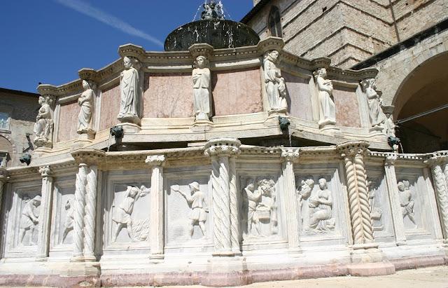 Fontana Maggiore em Perugia