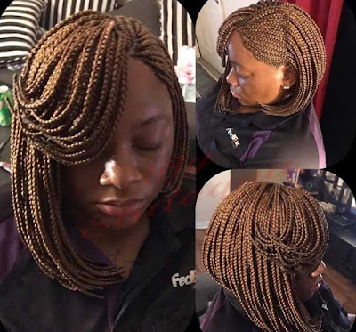Short Braided Bob Hairstyles