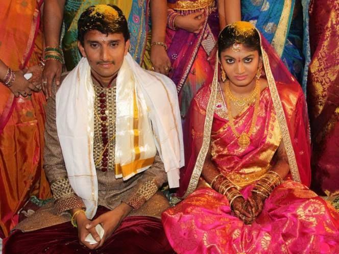 Telugu Actor Sivaji Raja S Daughter Rani Meghana Devi Wedding Photos