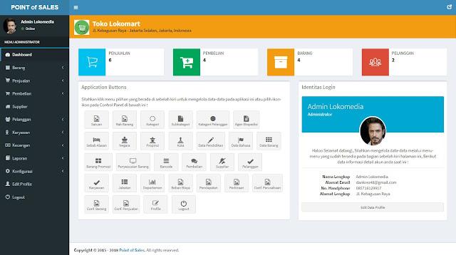 Code Aplikasi Web Point of Sales dan Inventaris