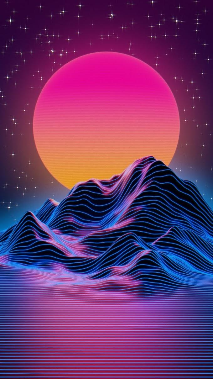 Papel de Parede Celular Abstrato