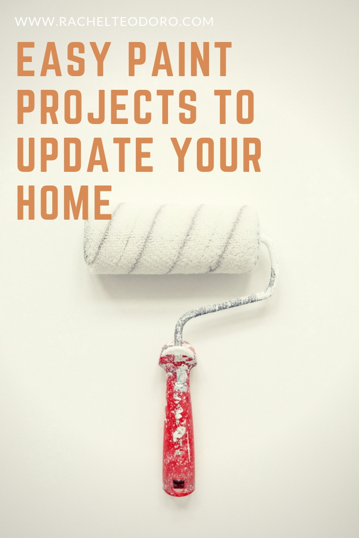 easy paint projects to update home