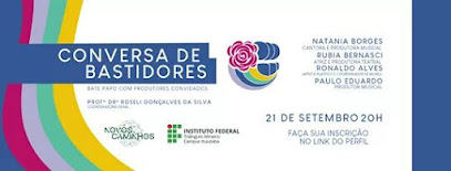 [Notícias] IFTM de Ituiutaba realiza evento virtual para profissionais e amantes da área cultural