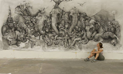 dibujos-surrealismo-animales-lapiz