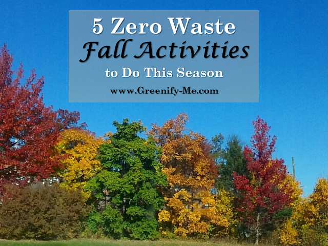 zero waste fall activities