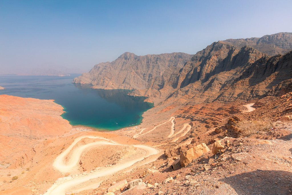 Jebel Harim, tallest mountain of Musandam, Oman
