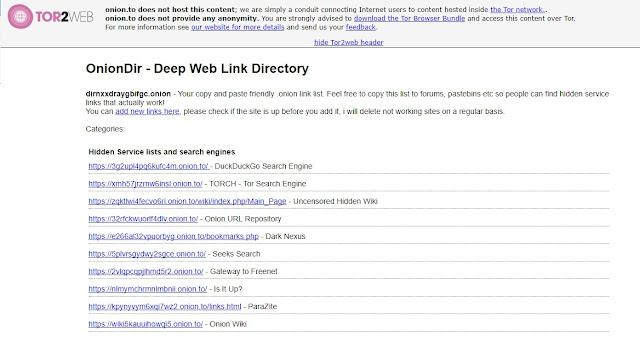 شبكة الويب العميقة