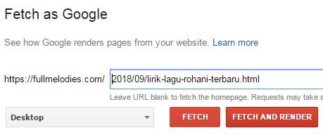 cara terbaru submit artikel ke webmaster tools