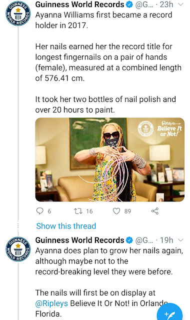 Woman with the Longest nails in the World finally cuts off her nails after 30 years (Photos)