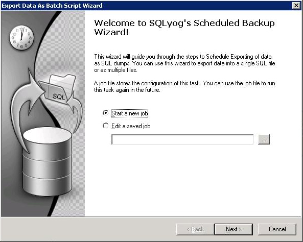 STEP-BY-STEP: AUTOMATIC BACKUP MySQL DATABASE WITH WINDOWS SCHEDULER