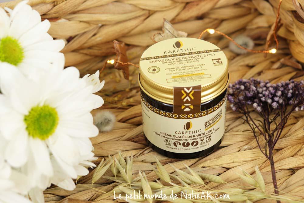 Crème 2 en 1 hydra-déodorante Karethic