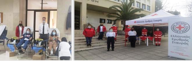Ιωάννινα:33 φιάλες αίματος… από την αιμοδοσία  του Ελληνικού Ερυθρού Σταυρού!