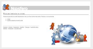 Site do Software Livre em manutenção!