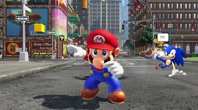 Mario Odyssey Sonic Adventure