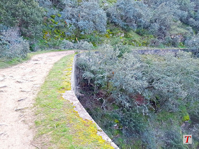 Ruta de la Cascada del Hervidero en Madrid