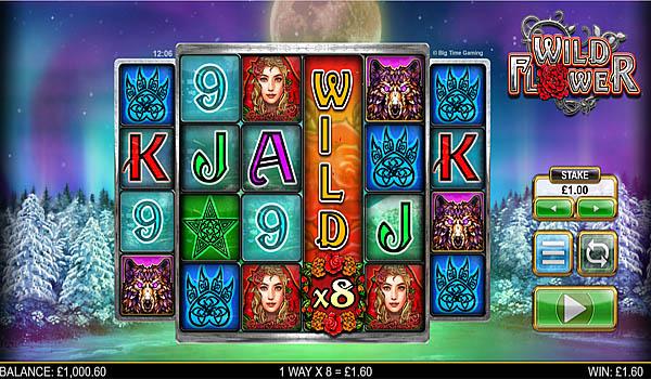 Main Gratis Slot Indonesia - Wild Flower Big Time Gaming