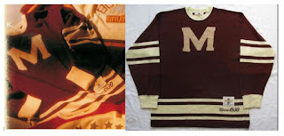 NHL CCM Heritage Jersey Collection - Montreal Maroons circa 1930
