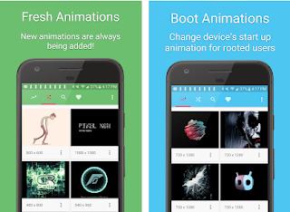 الرسوم المتحركة التمهيد Boot Animations