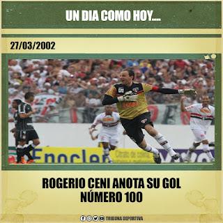 HACE 10 AÑOS ROGER100 CENI, LOS 100 GOLES DEL M1T0