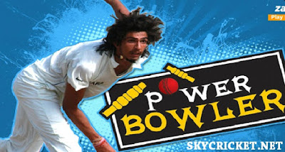 Online power bowler cricket game